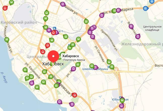 Общественный транспорт Хабаровска