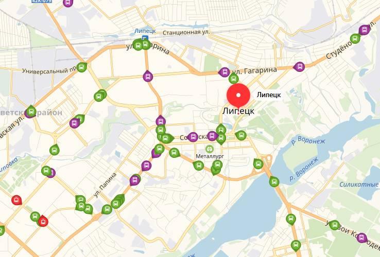 Общественный транспорт Липецка