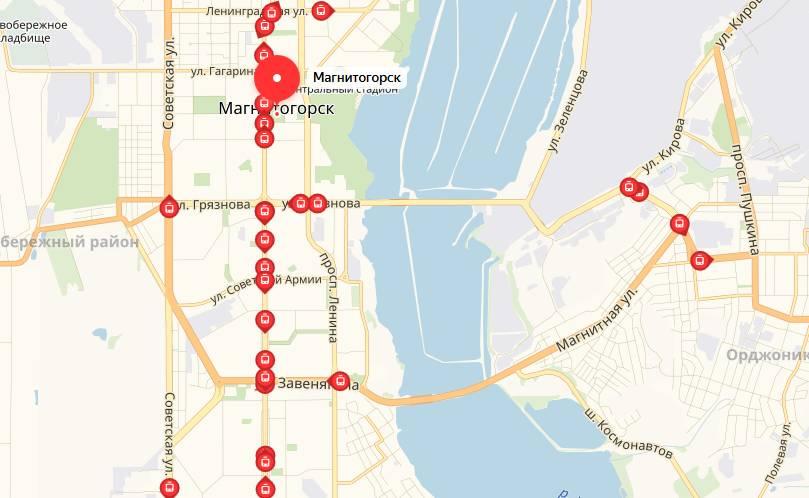 Общественный транспорт Магнитогорска трамваи