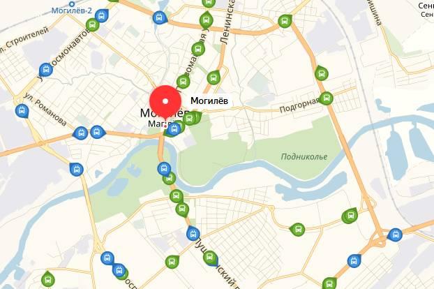 Общественный транспорт Могилев