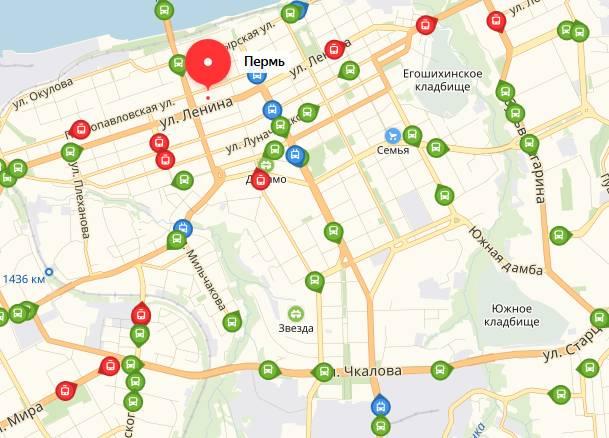 Общественный транспорт Перми