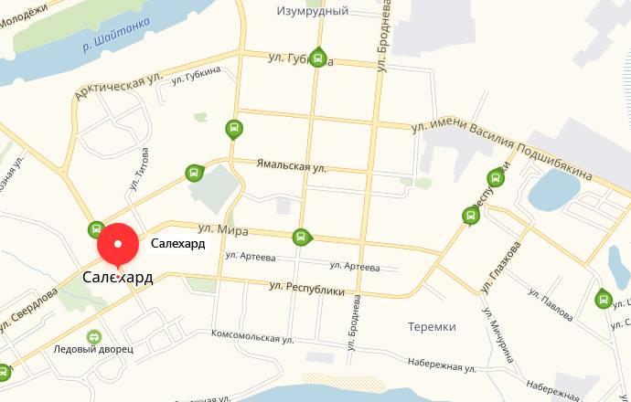 Общественный транспорт Салехарда
