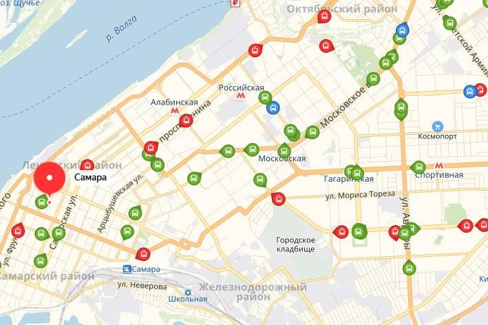 Общественный транспорт Самары
