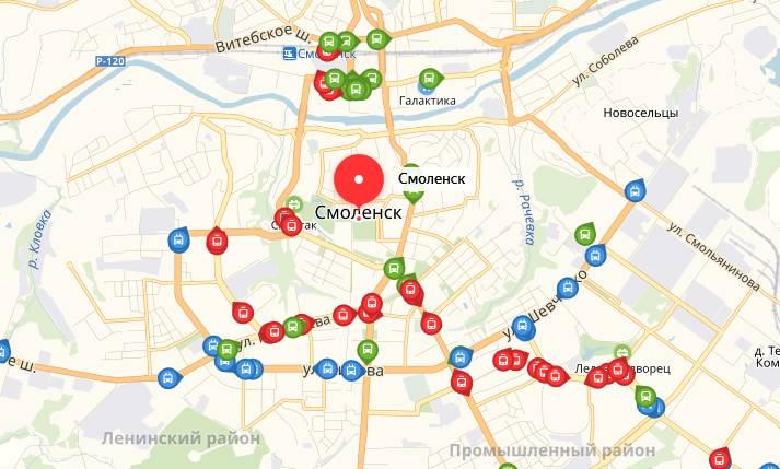 Общественный транспорт Смоленска
