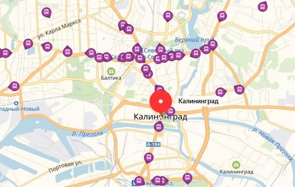 Общественный транспорт в Калининграде