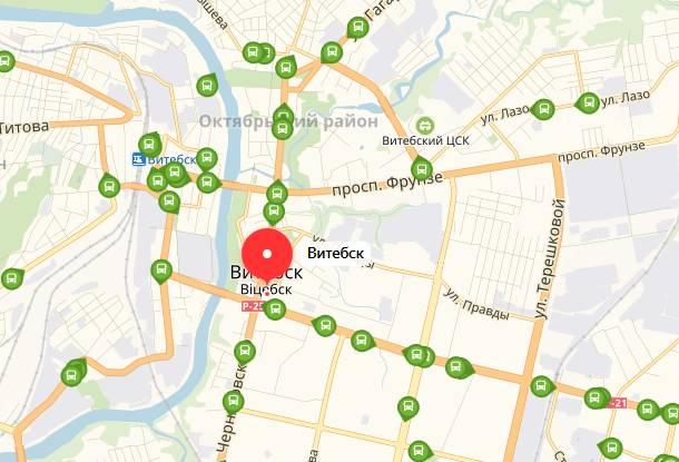 Общественный транспорт Витебска