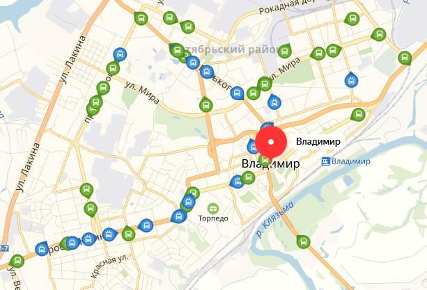 Общественный транспорт Владимира
