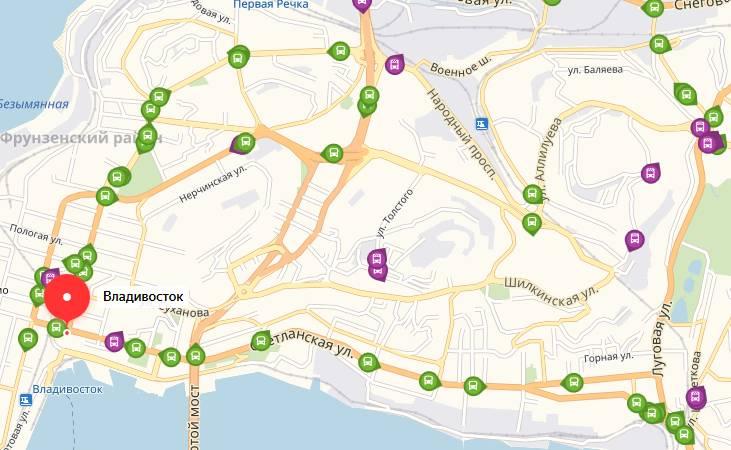 Общественный транспорт Владивостока