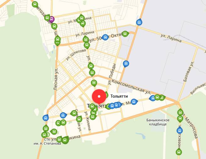 Общественый транспорт Тольятти